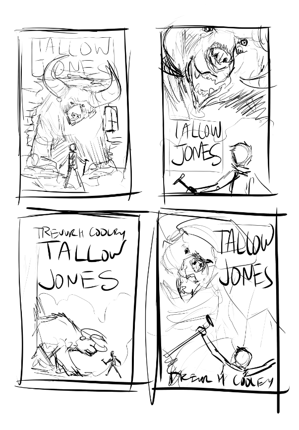 Tallow Jones Blood Trail Update And In Depth Look At The Artwork By
